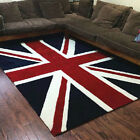 Anti-Skid Handmade Thicken Jacquard Union Jack Floor Carpet Mat Rugs GB Flag