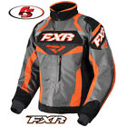 2018 FXR Octane Snowmobile Jacket Black/Grey/Char/Orange Large LG