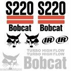 ANY MODEL Bobcat S220 DECALS Stickers Skid Steer loader New Repro decal Kit