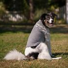 Fashion Pet Warm Soft Fair Isle Grey Dog Sweater in size small,medium, or large