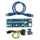 30/50/60CM PCIE Express 1x To16x USB 3.0 Extender Riser Card Adapter Cable LOT A