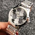 TOP ONE Luxury Women's Fashion 40mm Stainless Steel T6848 Bear Wrist Watch