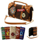 Harry Potter Hogwarts Pu School Badge Wallet Satchel Bag Purse Christmas Gifts