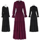 Retro Victorian Cocktail Party Long Dress COTTON Vintage PROM 1900's 20's Retro
