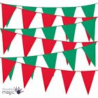 Christmas Xmas Pennant Bunting Flags Hanging Decoration Festive Partyware Banner