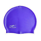 Swimming Cap Bathing Waterproof Hats Adult Unisex Beach Silicone