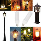 LED Flame Effect Simulated Nature Fire Light 6W 12W 18W 27E  Household Appliance