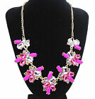 Fashion Charm Pendant Chain Crystal Jewelry Choker Chunky Statement Bib Necklace <br/> Free 1st Class Post UK 70 Designs Top Quality UK SELLER