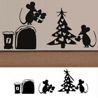 Removable Wall Sticker Art Vinyl Decal Mural Home Bedroom Decor Mouse Xmas Tree