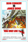 You Only Live Twice Movie Poster Print - 1967 - Action - 1 Sheet Artwork - 007 $33.32 CAD on eBay