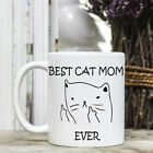 Coffee Mug - Best Cat Mom Ever - Middle Finger