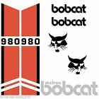Bobcat Melroe 980 DECALS Stickers Skid Steer loader New Repro decal Kit