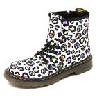 D3860 (without box) anfibio bimba DR. MARTENS nero leopardato boot shoe kid