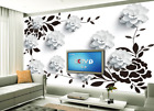 3D Petal White 582 Wallpaper Murals Wall Print Wallpaper Mural AJ WALL AU Lemon