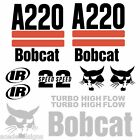 Bobcat A220 DECALS Stickers Skid Steer loader New Repro decal Kit