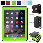 For Apple iPad 9.7 inch 5th 6th Gen 2018 Screen Protector Shockproof Case Cover