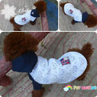 Dog Coat Warm Pet Clothes Dog Clothes Cotton Hooded Sweater Puppy Clothes