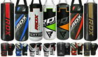 RDX Youth Kids Heavy Bag Punching Training MMA Boxing Kit Punch Bag Gloves gym U
