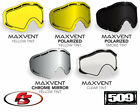 New 2019 509 Sinister X5 Snowmobile Goggle MaxVent Lenses Polarized