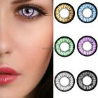 Unisex Big Eye Makeup Charming Colored Contact Lenses Beauty Cosmetic QWE
