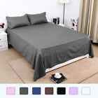 top thread count sheets - Flat / Top Bed Sheets Only 300 Thread Count Egyptian Cotton 1-Piece