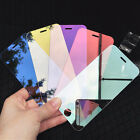 Luxury 9H Clear Plating Mirror Tempered Glass Film Screen for iPhone 7/6s/6 Plus