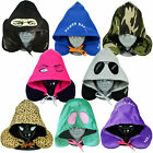 Hooded Neck Pillow Travel Cushion Soft Plush Holiday U Shaped Sleep Accessory