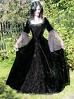 Gothic Mittelalter LARP Kleid Dark Wedding