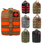 CO_ First Aid Kit Tactical Survival Kit Molle Rip-Away EMT Pouch Bag IFAK Medica