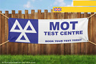 MOT Testing Centre Book Your Test Here Heavy Duty PVC Banner Sign 2229
