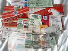 ENGLAND INTERNATIONAL HOME AND AWAY  TICKETS 1970 ONWARDS