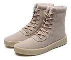 Winter Sneakers Men Ankle Boots Fashion Work Casual Outdoor Shoes Furry Lined