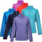 Women's Polar Fleece Half Zip Pullover Lightweight Jacket Winter Fall Top Coat