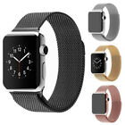 Milanese Loop Stainless Steel Magnetic Watch Band Strap For Apple Watch 38/42mm