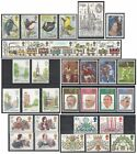 1980 Royal Mail Commemorative Sets MNH. Sold separately & as full year set.