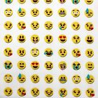 Emoji emoticons 100% TISSU COTON par le mètre Happy SMILEY fabrication de robes