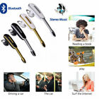 bluetooth music earpiece - Universal Bluetooth Handsfree Earpiece Headset A2DP Music Calls for Mobile Phone