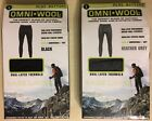 Omni-Wool Mens Dual Layer Thermals Bottoms
