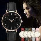 Women Men Casual Simple Quartz Analog Watch Stainless Stell Luxury Wrist Watches