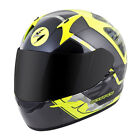 Scorpion EXO-R410 Convoy Full Face Motorcycle Helmet Neon/Silver Adult Sizes