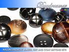 HIGH QUALITY NYLON/SYNTHETIC BLAZER BUTTONS SETS (CHOICE OF 10 DIFFERENT STYLES)
