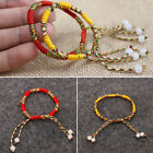 Colorful Handmade Knots Lucky Rope Bracelet Adjustable Size Lucky Rope Chain