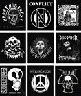 PUNK BACKPATCH back patch exploited joy division discharge cramps minor threat