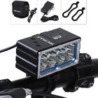 Waterproof Rechargeable 8 LED Bicycle Bike Front Light Headlight Lamp Outdoor