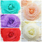 """20"""" wide Artificial Large Roses Flowers Wall Backdrop Party Wedding Decorations"""