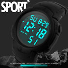 Fashion Big Dial Sport Watch Waterproof Men's Boy Digital Stopwatch WristWatch