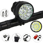 32000LM XML 11T6 10T6 LED Vastfire Head Torch Front Recharge Bicycle Light Lamp
