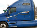 Semi Truck Graphics American Flag Stripes Car Vinyl Decals 4ft to 10ft