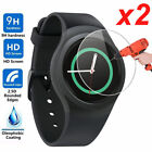 2 Pack For Samsung Galaxy Gear S2 Watch Premium Tempered Glass Screen Protector
