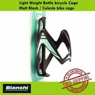 Bianchi Light Weight Bottle bicycle Cage Matt Black / Celeste bike cage